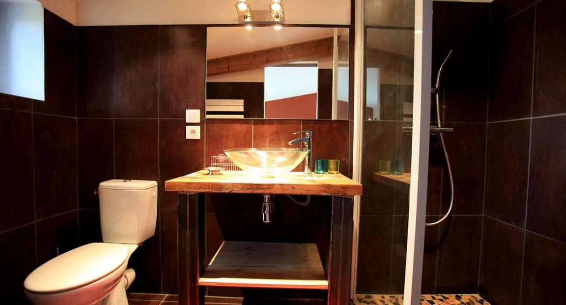 Chambre d'hôtes Arles - Salle d'eau Chambre Tramontane